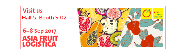 RedStar naar Asia Fruit Logistica